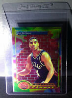 1993-94 Topps Finest Jim Jackson #116 Midwest's Finest Basketball Card