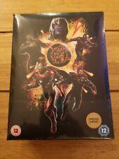 Zavvi Exclusive Avengers End Game 4K UHD Blu Ray Steelbook Light Up Boxset New!