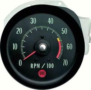 1970 Chevrolet Chevelle SS/Monte Carlo Tachometer w/5500 Red Line