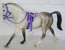 Handmade saddle treeless pad bridle tack set fit 1:12 scale Classic Breyer horse