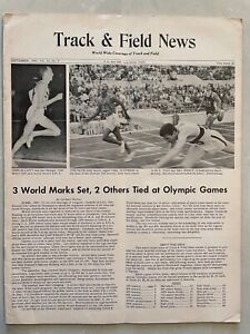 1960 Track and Field News September           Olympics, Wilma Rudolph