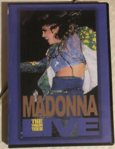 Madonna - Live - The Virgin Tour (never released on dvd!)