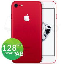 APPLE IPHONE 7 128GB ROSSO RED GRADO AB RIGENERATO RICONDIZIONATO GARANZIA 12M
