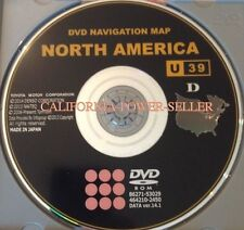 2006 2007 2008 2009 TOYOTA LEXUS UPDATED NAVIGATION DVD MAP U39 DATA 14.1 OEM