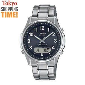 Casio Lineage LCW-M100TSE-1A2JF Titanium Solar Radio Analog Digital Men`s Watch
