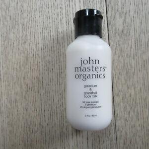 John Masters Organics - Geranium & Grapefruit Body Milk - 60ML.