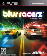 Used PS3 Blur Racerz PLAYSTATION 3 SONY JAPAN JAPANESE IMPORT