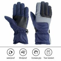 -38℃ Waterproof Winter Ski Snow Snowboarding Thermal Warm Gloves For Men Women