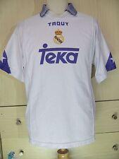 REAL MADRID TAQUY 1998 RAUL GONZALEZ CAMISETA SPAIN SOCCER FOOTBALL SHIRT M VTG