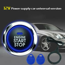 Car Alarm One Start Stop Engine Push Button Lock Ignition Keyless Entry Starter