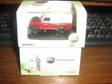 OXFORD DIE-CAST - LAND ROVER SERIES 2 with HARD BACK - BRITISH RAIL - 00 /1:76