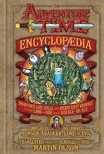 THE ADVENTURE TIME ENCYCLOPEDIA by M Olson - Hardcover Book Free Shipping *New*