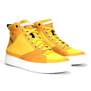 Diesel S-Danny MC Mens High Top Fashion Sneakers Golden Rod Size 10 New