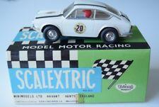 Scalextric TC 850 Coupé Abarth C-42 slot car original 1969 in (environ 5001.26 cm) blanc avec boite