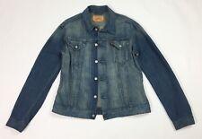 Levis 72500 jacket giacca jeans uomo usato XL blu giubbino denim vintage T3501