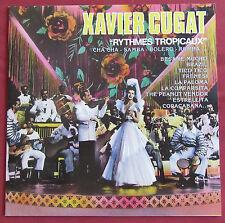 XAVIER CUGAT  LP ORIG FR RYTHMES TROPICAUX