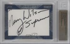 2009 Razor Cut Signature Edition #MAWI Mary Wilson 1/1 BGS Authentic Card 0b2