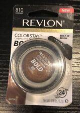 REVLON COLORSTAY CREME EYESHADOW BOLD  #810 COGNAC New Sealed