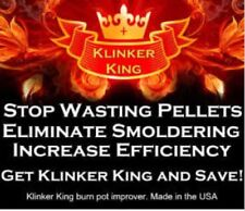 """Klinkerking""Pellet Stove Burn pot Improver. ""New product for 2018"". Vogelzang ."