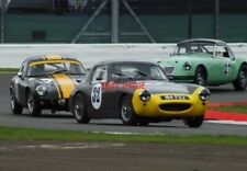 PHOTO  CLEGG/CLEGG AUSTIN HEALEY SEBRING SPRITE #32 LEADS THE ANDREW BEAUMONT LO