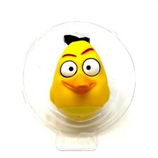 Spin Master Angry Birds Vinyl Character Ball Toy Yellow Chuck Free Shipping