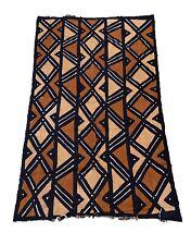 "Superb African Bogolan Mud Cloth Textile 66 "" by 42 """