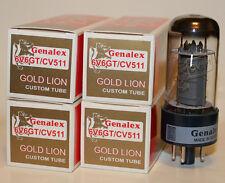 Matched Quad Genalex Gold Lion 6V6GT / CV511 / 6V6 tubes, BRAND NEW