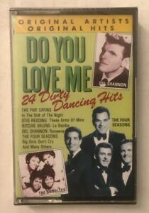 """Various Artists """"Do You Love Me: 24 Dirty Dancing Hits"""" NEW/SEALED Tape Cassette"""