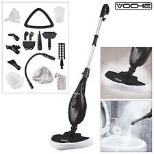 VOCHE 16-in-1 1300W HOT STEAM CLEANER HANDHELD STEAMER FLOOR MOP + CARPET WASHER