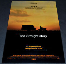 David Lynch's THE STRAIGHT STORY 1999 ORIG. D.S. 27x40 ONE SHEET MOVIE POSTER!