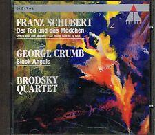 CD album: Franz Schubert: der tod und das mädchen. George Crumb. teldec. C5