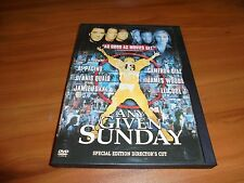 Any Given Sunday (DVD, 2000 Special Ed. Widescreen) Al Pacino, Cameron Diaz Used