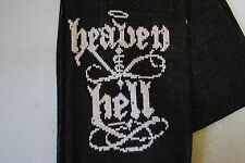 HEAVEN & HELL LOGO ACRYLIC SCARF NEW DIO BLACK SABBATH RONNIE JAMES DIO EX TOUR
