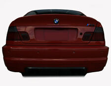 00-06 BMW 3 (CPE/CNV) tinted smoked vinyl overlays taillight cover film E46 m3