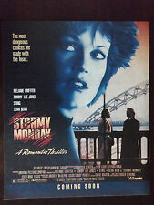 1988 Stormy Monday Movie Advertisement Melanie Griffith, Tommy Lee Jones, Sting