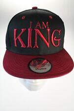State Property soy rey black/wine Snapback sombrero/gorra de béisbol
