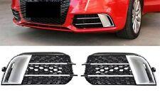 Für Audi A1 8X 2010-2015 RS1 Wabengrill Nebelscheinwerfer Blenden gitter grill 1