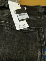 Scotch & Soda Washed Look Super Slim Jeans. W32/30L .Mens New Ref HV17