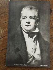 c1933 Postcard Sir Walter Scott Knox Series