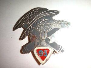 Français Armée 93rd Artillerie Regiment Beercan Insignes