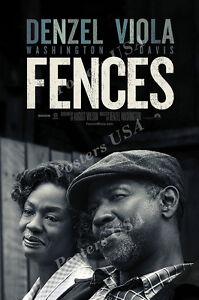 Posters USA - Fences Denzel Washington Movie Poster Glossy Finish - MOV646