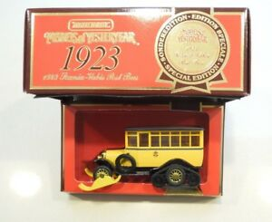 MATCHBOX - MODELS OF YESTERDAY - Y16 1923 SCANIA-VABIS POST BUS