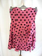 "Ladies Dress Red Herring UK 12 pink corset, bust 34"", waist 30"", length 29"" 0881"