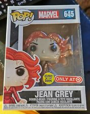 Funko Pop Jean Grey Glow In The Dark GITD Target Exclusive #645 + Pop Protector