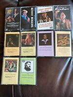 Kenny Rogers Cassette Tape Lot 10 Cassettes.