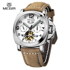 Mens Watches Luminor Automatic Tourbillon Self-Wind 3206 Leather 4 Color