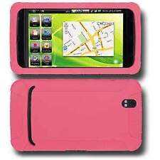 AMZER Silicone Soft Skin Jelly Back Case Cover For Dell Streak Baby Pink