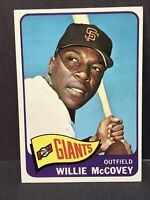 1965 TOPPS #176 WILLIE McCOVEY San Francisco Giants EX-NM HOF