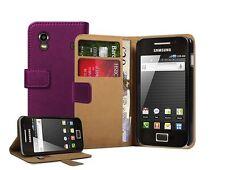 Billetera Flip cuero caso teléfono cubrir para Samsung Galaxy Ace Gt-s5830 / Gt-s5830i