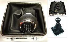 VW PASSAT B6 B7 05-14  POMELLO DEL CAMBIO 6 marce cuffia ecopelle base
